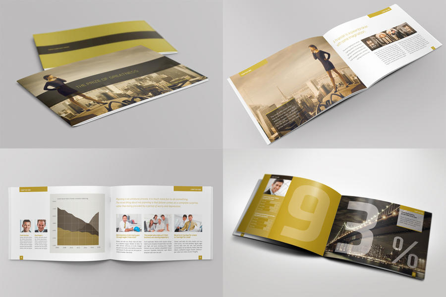 horizontal brochure template - exclusive horizontal brochure by mikingers on deviantart
