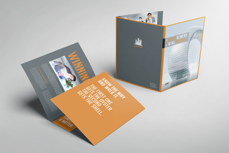 Business Image Trifold