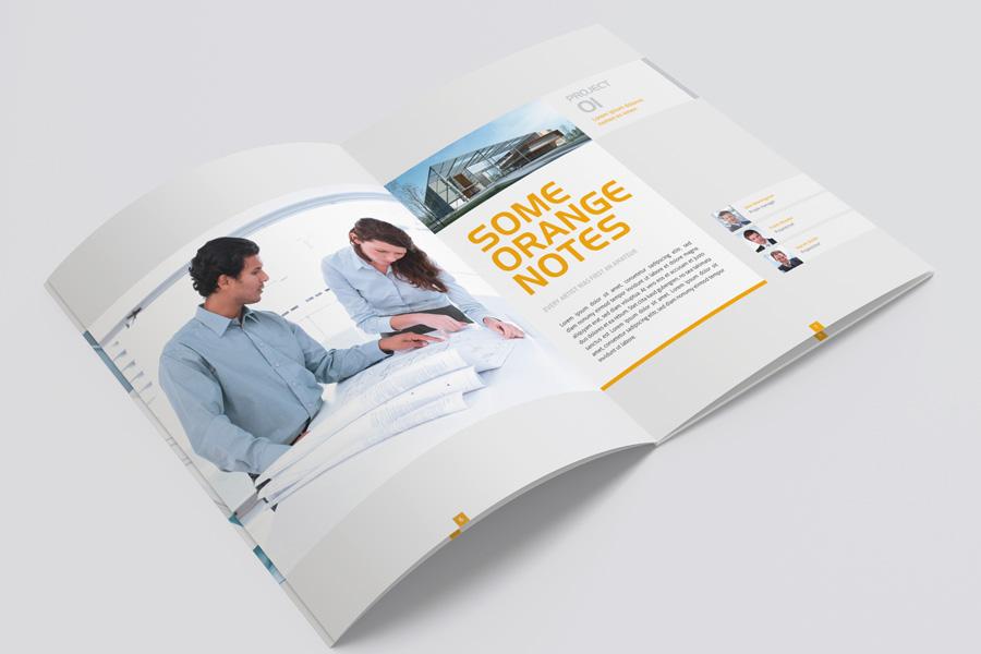 Modern Brochure 07 by Mikingers