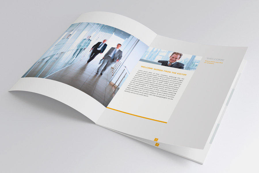 Modern Brochure 02 by Mikingers