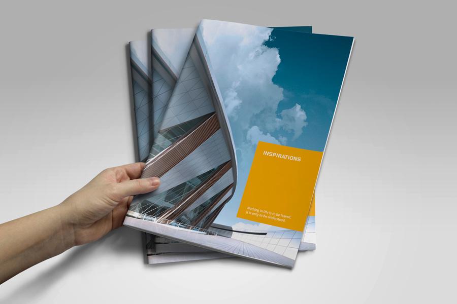 Modern Brochure 01 by Mikingers