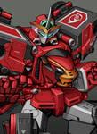 CB-01 Go-Buster Ace - Beast Racer Zord