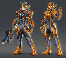 Valkyrie - Slashing Assault Cheetah - Full