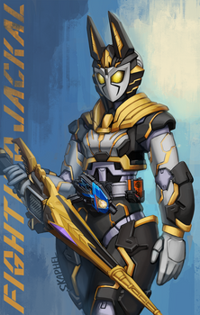 Kamen Rider Valkyrie - Fighting Jackal