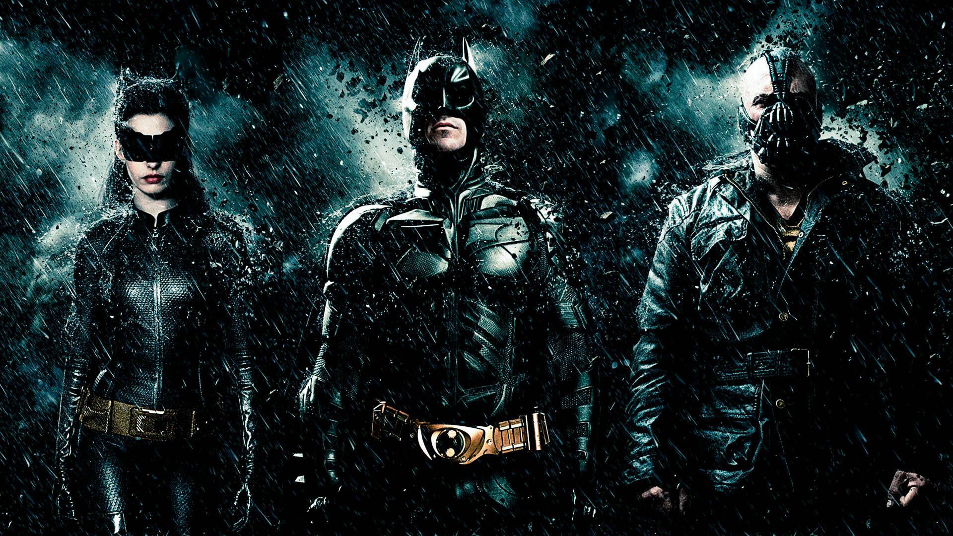 The Dark Knight Rises Catwoman-Batman-Bane by titiuchiha ...
