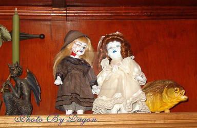 Two Evil Dolls.