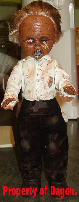 OOAK Zombie Doll.