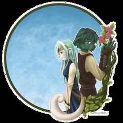 Clans: Deriala and Hentaro by tsukino-hikaru