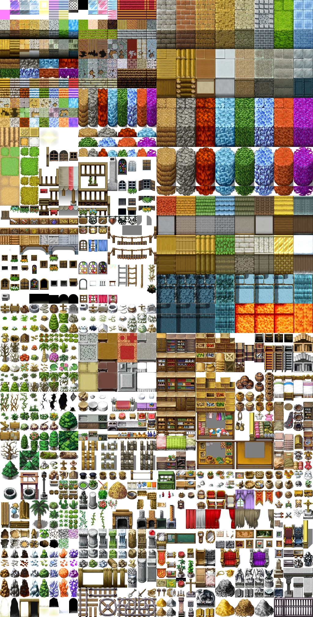 RPG Maker VX RTP Tileset by telles0808 on DeviantArt