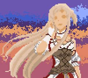 SwordArt Lady