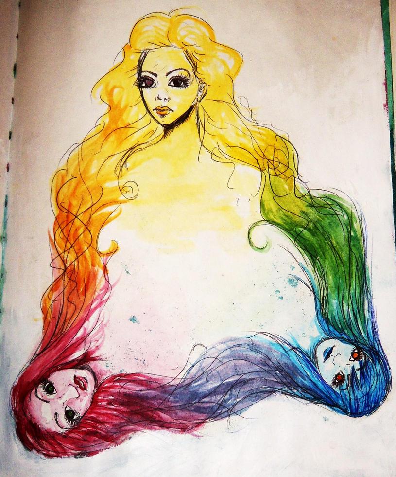 Color Design Art : Creative color wheel by thegingerhasspoken on deviantart