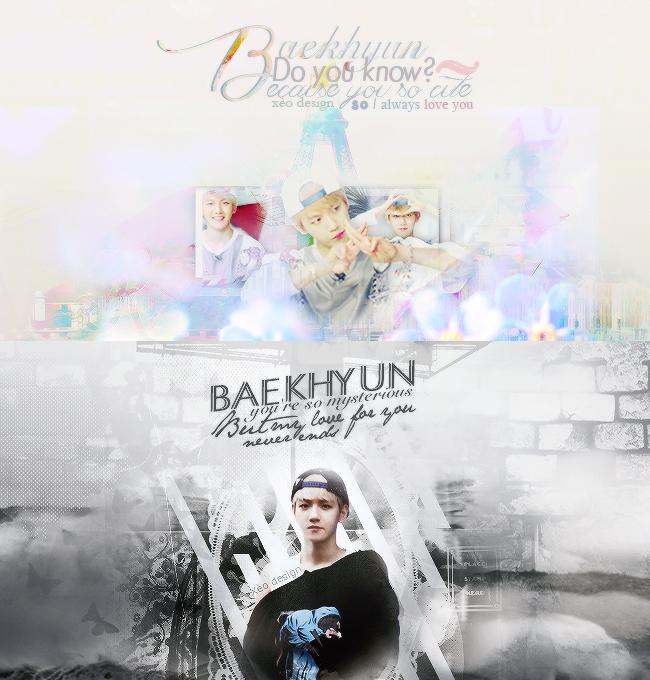 [090815] My love is for BAEKHYUN by Xeocute2k