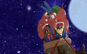 Merry Christmas 2014 Wallpaper by kristensk
