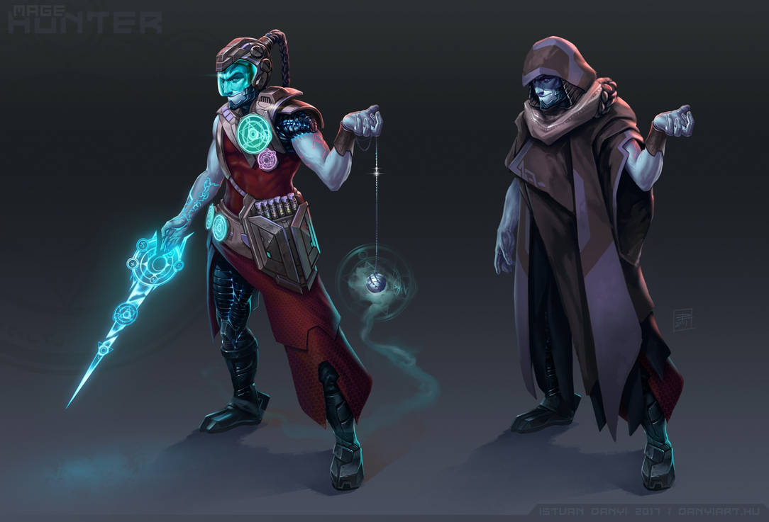 Mage hunter by danyiart