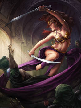 Blade dancer