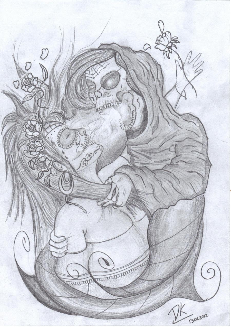 Sugar skull girl hentai hentai image