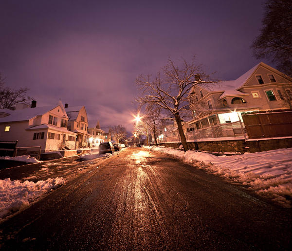 Night Lights I by aeroartist