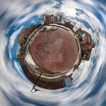 Tiny Planet - Woodland Street by aeroartist
