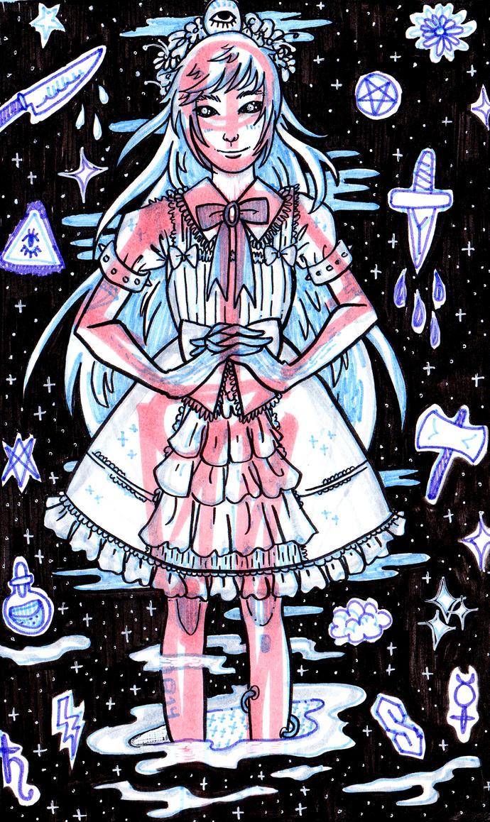 Exoskeleton Alien Space Princess/Lolita by chappy-lips