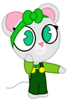 daisy the mouse (PNG)