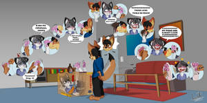 Ticklish Schrodinger's Cat