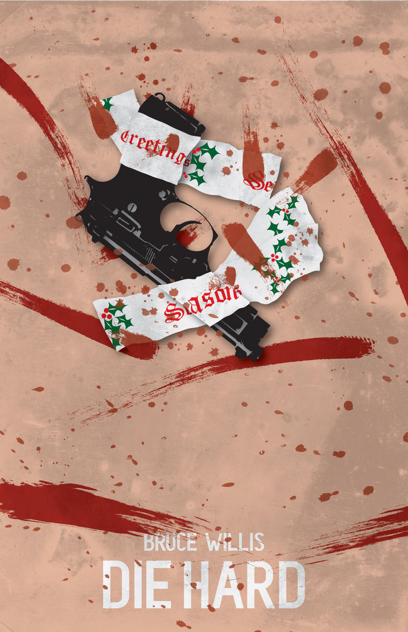Die Hard Minimal Movie poster