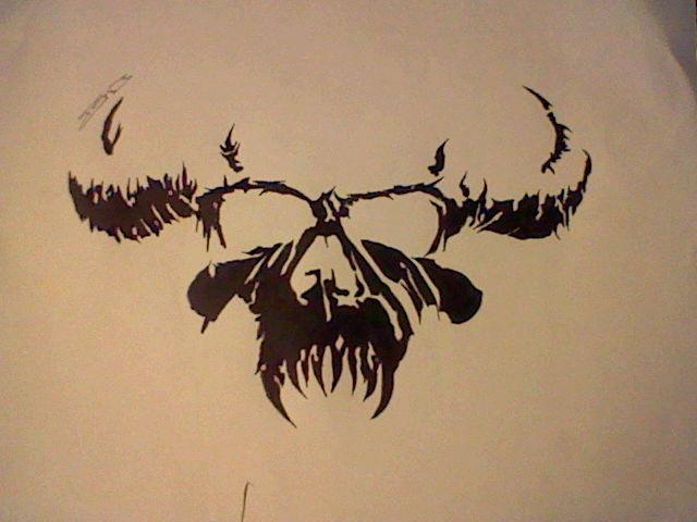 danzig tattoo design for friend raven by lycanboy981 on deviantart. Black Bedroom Furniture Sets. Home Design Ideas