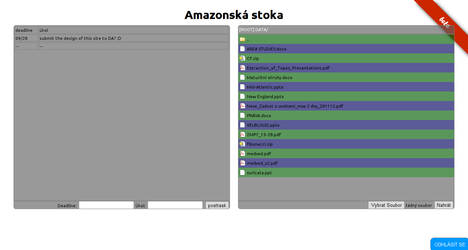 Student file and task sharing web app
