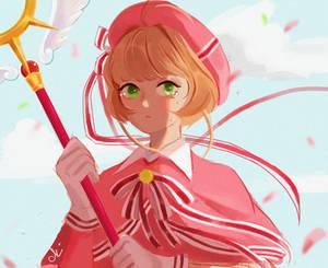 Color sketch Sakura Kinomoto
