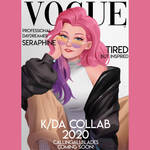 Seraphine on Vogue cover !!