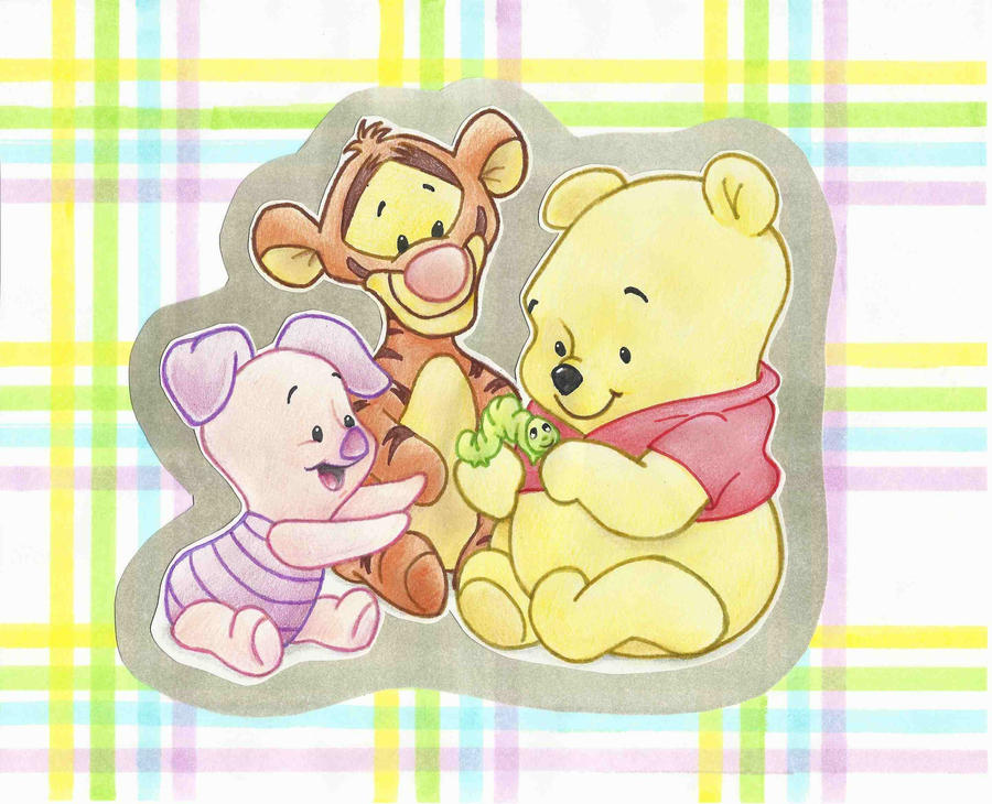 Baby pooh and friends wallpaper - Winnie the pooh and friends wallpaper ...