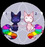 Rainbow Kitties Adoptables [ CLOSED ]