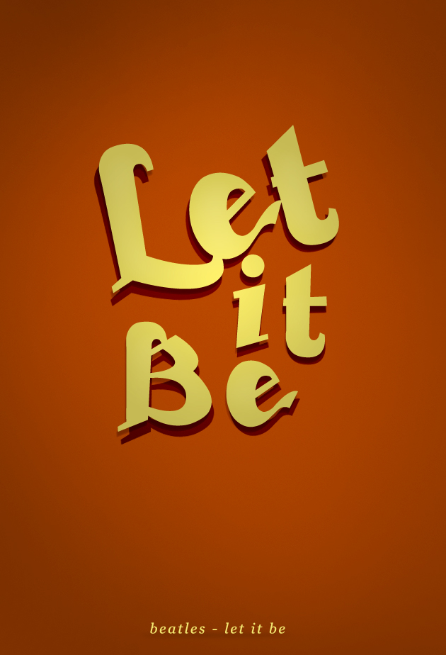 Let it be by SpiderIV