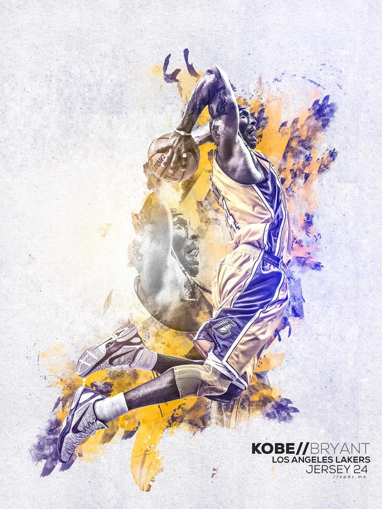 Kobe Bryant by SpiderIV