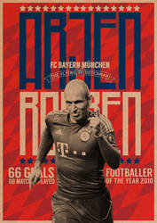 Arjen Robben Poster