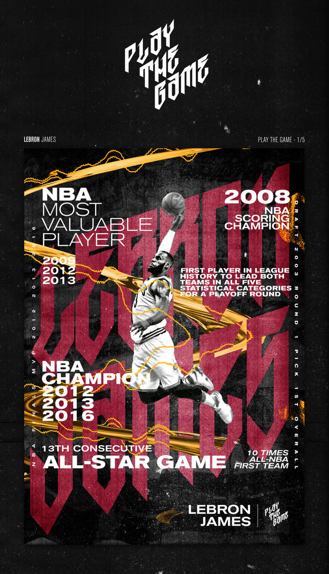 Lebron James - Play The Game 2017 by SpiderIV