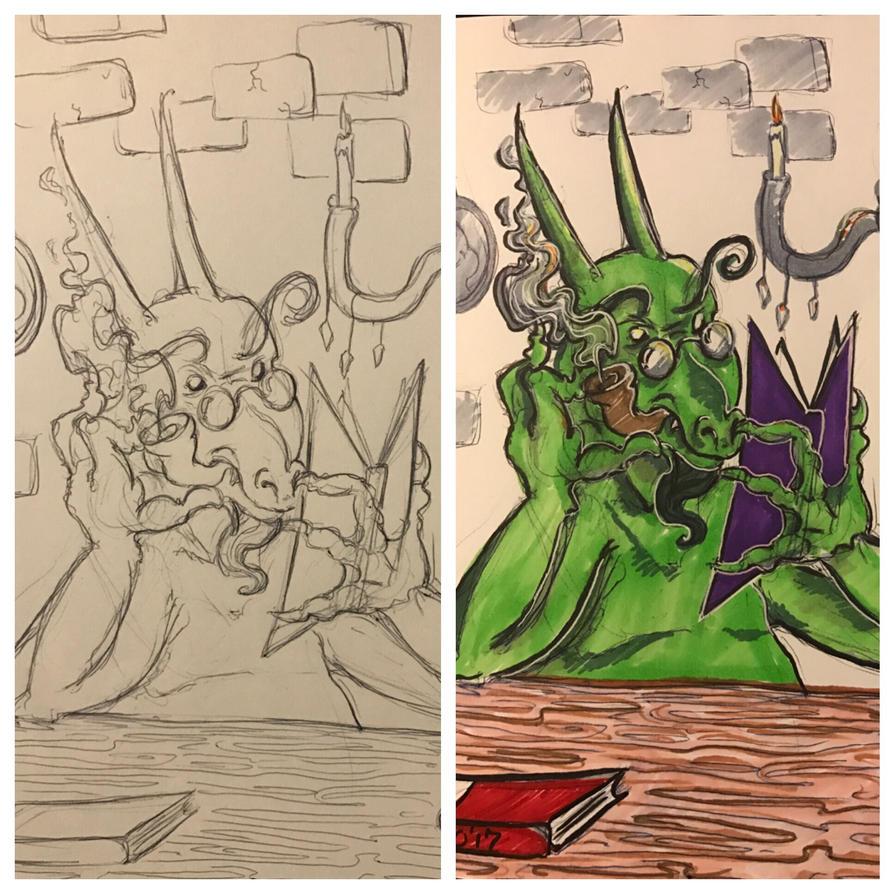 Book Wyrm Progress  by Krissy96