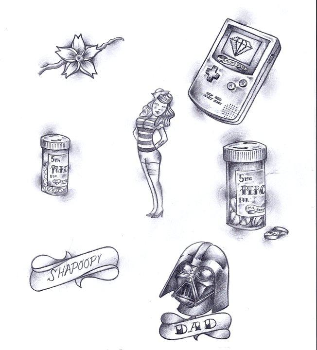 Marxist tattoos