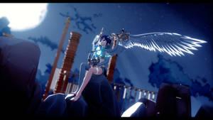 [Genshin Impact MMD] Moonlight [Barbatos/Venti]