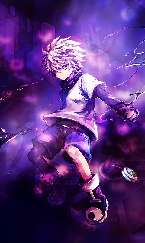 Killua Zoldyck Wallpaper By Valkiria7 On Deviantart