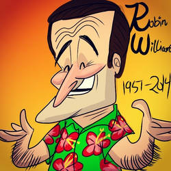 Robin Williams by JustoonSmitts