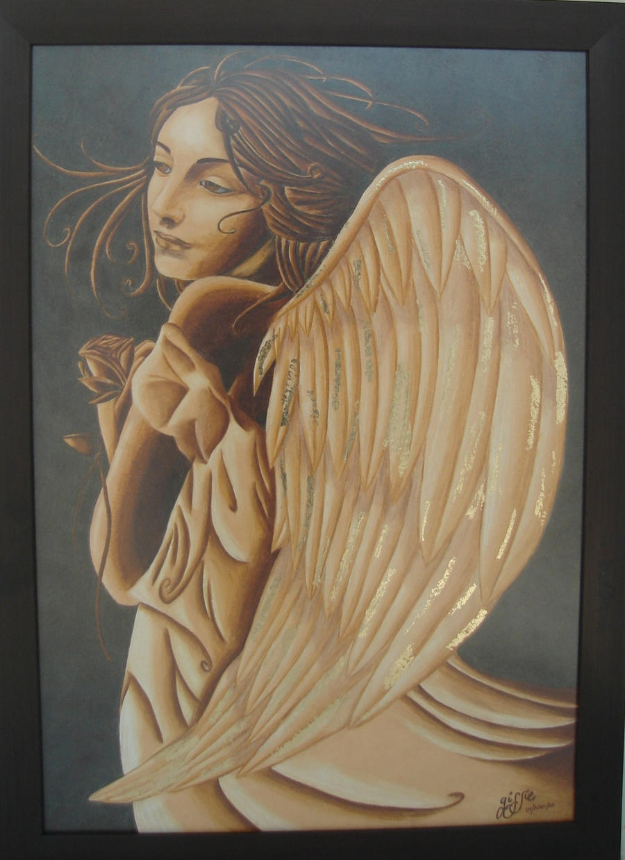 Renaissance Angel by GissieWizzie on DeviantArt Angel Painting Renaissance