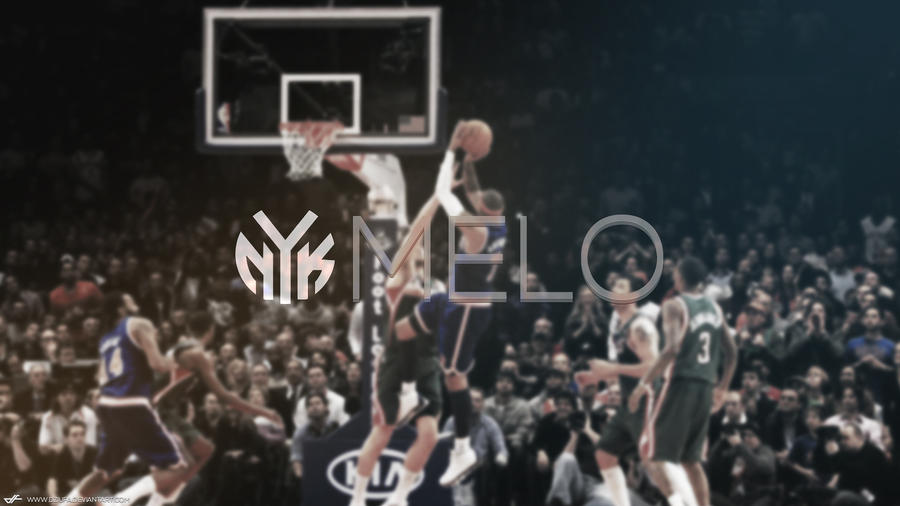 Carmelo anthony wallpaper by dziufa on deviantart carmelo anthony wallpaper by dziufa voltagebd Images