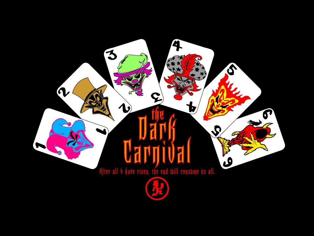 6 Jokers Cards By JUGGALO 19899