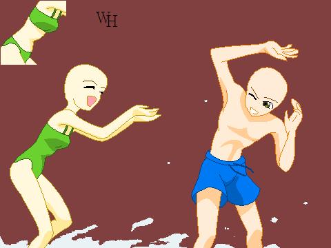 Water Fight .::Base::. by xxXWitch-HazelXxx on DeviantArt
