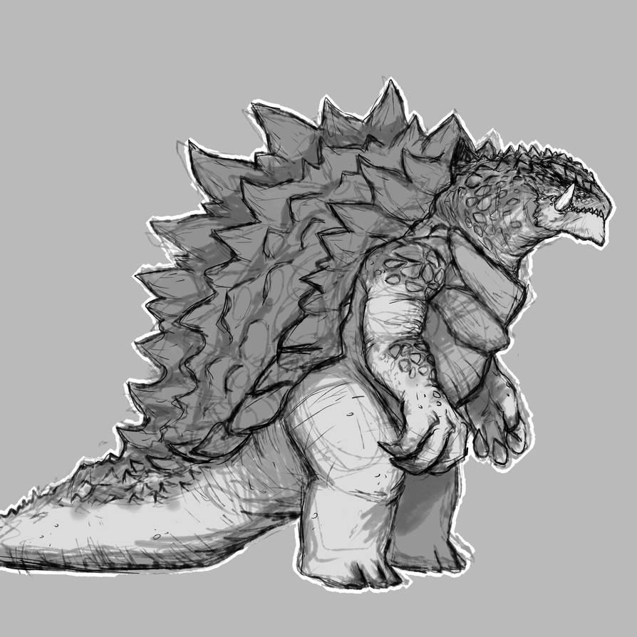 Gamera Full Body by SpaceDragon14