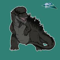 Mini Godzilla 2014 by SpaceDragon14