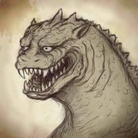 1954 Storyboard Godzilla by SpaceDragon14