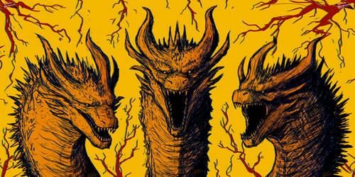GHIDORAH - King Of The Monsters