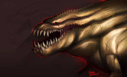 Deviljho by SpaceDragon14